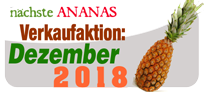 Ananas Aktion Dezember